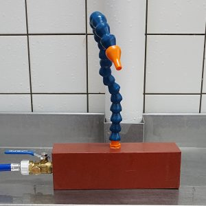 Waterspoelsysteem voor vistafel